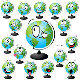 Globe  illustration Stock Photos