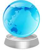 Globe Illustration stock images