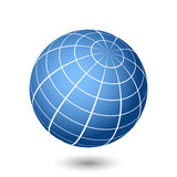 Globe illustration Stock Photography