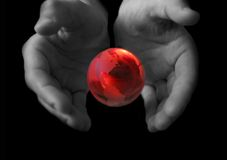 Free Globe In Hands Stock Images - 2041584