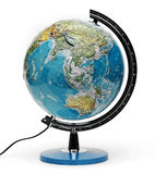 Globe isolate Stock Images