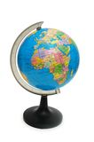 Globe isolated Royalty Free Stock Images