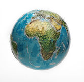 Globe isolated Stock Images