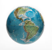 Globe isolated Royalty Free Stock Images