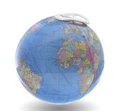 Globe isolated. Stock Photo