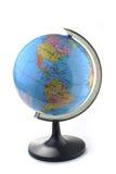 Globe isolated on white Stock Photography