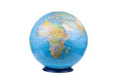 Globe. Isolated on white background Royalty Free Stock Photos
