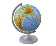 Globe. layout of the land Royalty Free Stock Photos