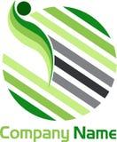 Globe lines logo Royalty Free Stock Photo