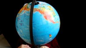 Globe stock video