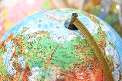 Globe Local Royalty Free Stock Photos