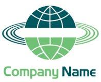 Globe logo Royalty Free Stock Images