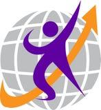 Globe logo Stock Image