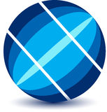 Globe logo Stock Photo