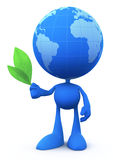 Globe Man (The Peacemaker) Royalty Free Stock Photo