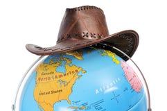 Globe Map Royalty Free Stock Photography