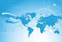 Globe map Stock Photos