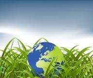 Globe map of the world Stock Photo