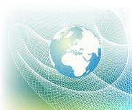 Globe map of the world Royalty Free Stock Photo