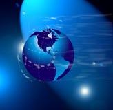 globe mapy świata Zdjęcia Royalty Free