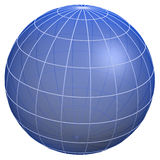 Globe meridians / Earth model Stock Photos