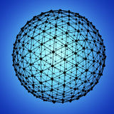 Globe Mesh Royalty Free Stock Image