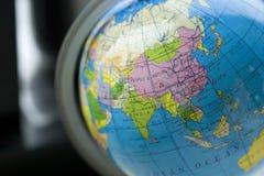 Globe Model. Close up of a globe model Stock Photography