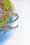 Globe with network Royalty Free Stock Image