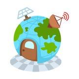 Globe network Stock Image