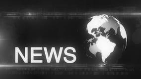 Globe News background generic stock video