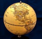 Globe_North美国 库存照片