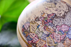 Globe North Africa Royalty Free Stock Photography