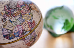 Globe (north Africa) Stock Photography