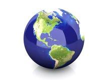 Globe - North America Stock Photo
