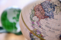 Globe (North America) Stock Images