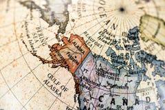 Globe North America Stock Image