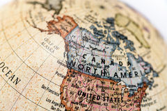Globe North America Royalty Free Stock Images