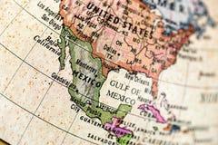 Globe North America Royalty Free Stock Photos