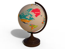 Globe - North America and Greenland Stock Photos
