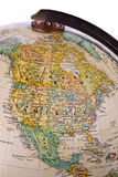 Globe - North America - Isolated stock images