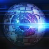 Globe oculaire de technologie illustration libre de droits