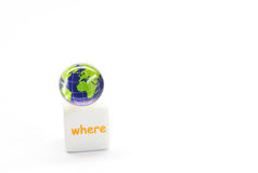 Free Globe On Dice Royalty Free Stock Photography - 5623647