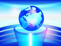 Globe on a pedestal Royalty Free Stock Image