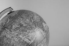 Globe with physical map on it  vintage effect Stock Photos