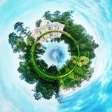 Globe planet. Globe round planet Stock Image