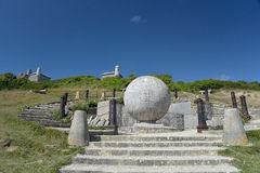 The Globe przy Durlston kraju parkiem Obraz Stock