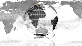 Globe rotating LOOP Stock Photography