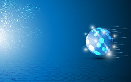 Globe science design background Royalty Free Stock Images