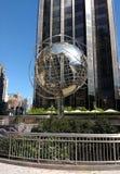 The Globe Sculpture at the 59th Street Columbus Circle Subway Station, New York City, USA Royalty Free Stock Photos