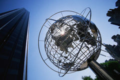 Globe Sculpture at the Trump International Hotel Royalty Free Stock Image